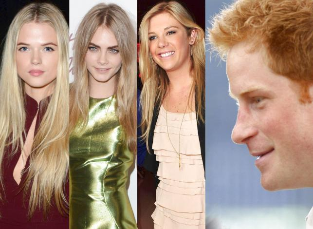 Wszystkie (potencjalne) narzeczone księcia Harry'ego
