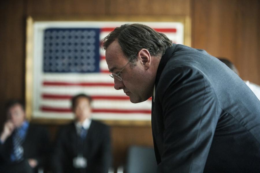 """James Gandolfini w filmie """"Wróg numer jeden"""""""