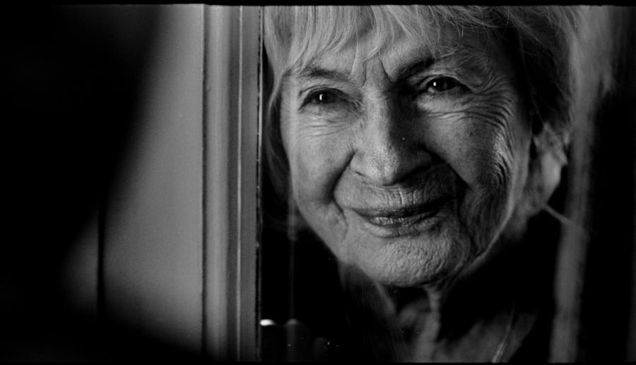 """Danuta Szaflarska w filmie """"Pora umierać"""""""