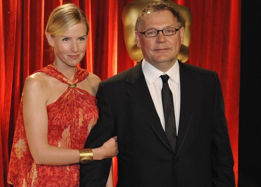Janusz Kaminski (na zdjęciu z Rebeccą Rankin)