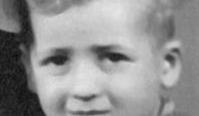 Menahem Bodnar w czasach dzieciństwa