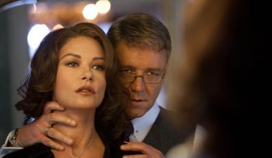 """Russell Crowe i Catherine Zeta-Jones w filmie """"Władza"""""""