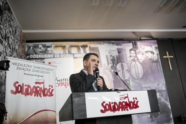 "Platforma Oburzonych - NSZZ ""Solidarność"" i Piotr Duda"
