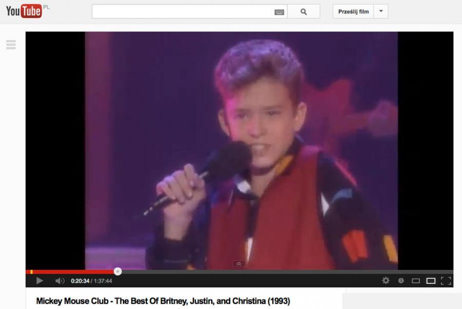 Dziecięce gwiazdy muzyki: Justin Timberlake