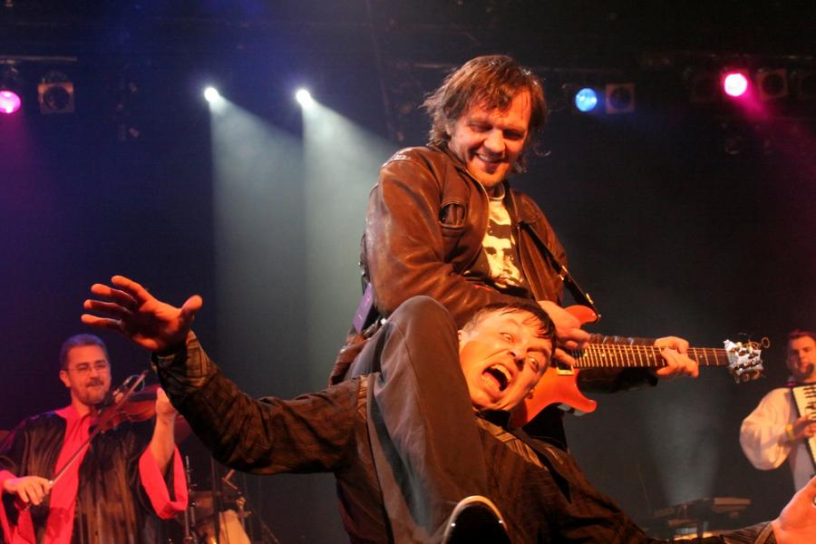 Emir Kusturica i jego The No Smoking Orchestra