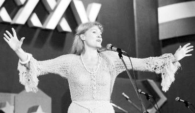 Anna German na Festiwalu Piosenki Żołnierskiej w Kołobrzegu (1979)