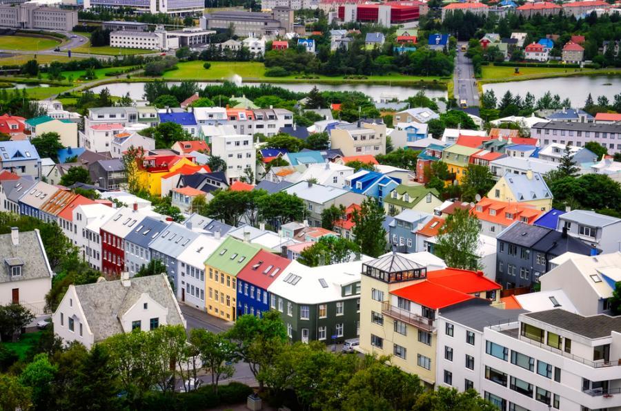 Rejkjawik, Islandia