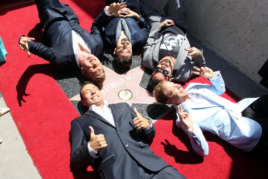 Backstreet Boys na Hollywood Walk of Fame
