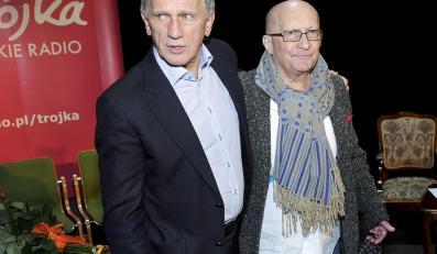 Jan Englert i Wojciech Pszoniak