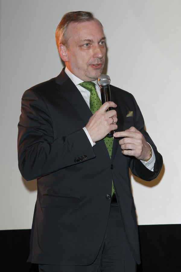"""Bogdan Zdrojewski na premierze filmu """"Inny Świat"""""""