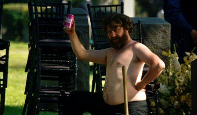 """Zach Galifianakis w filmie """"Kac Vegas 3"""""""