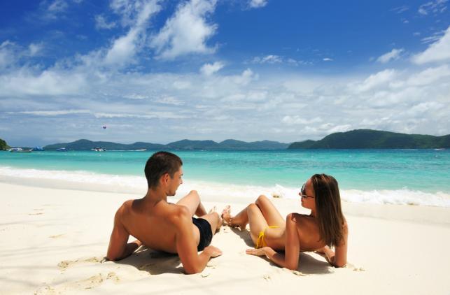 wakacje plaża urlop morze tropiki