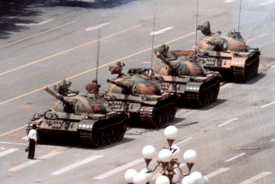 Protest na placu Tiananmen