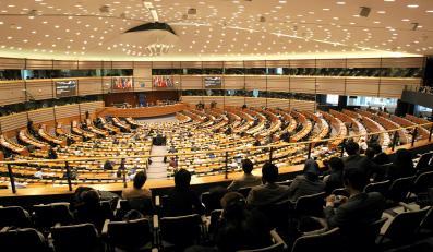 Sala obrad Parlamentu Europejskiego