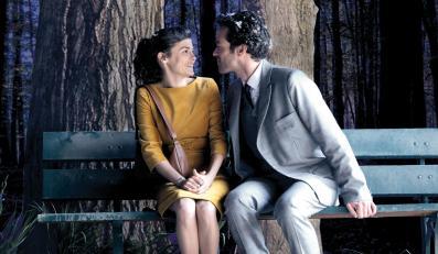 """Audrey Tautou i Romain Duris w filmie """"Dziewczyna z lilią"""""""