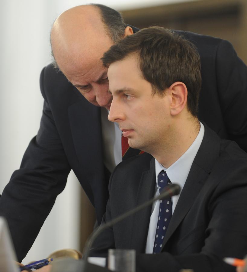 Jacek Rostowski i Władysław Kosiniak-Kamysz