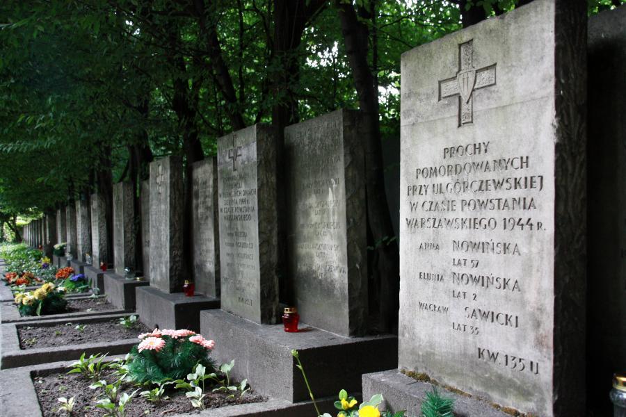 Powstanie Warszawskie 1944 Wola spacer śladami Powstania Warszawskiego