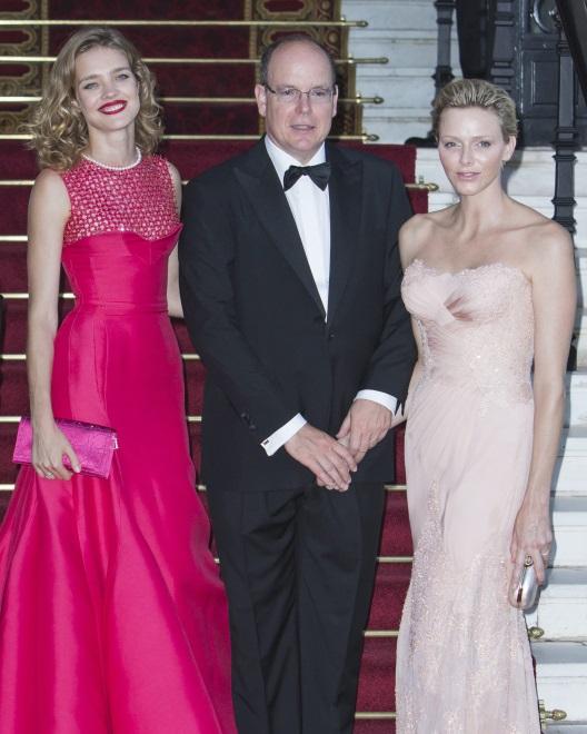 Para książęca Monako i Natalia Vodianova