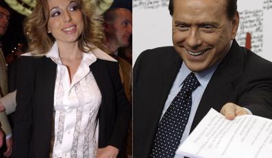 Marina Berlusconi i jej ojciec Silvio