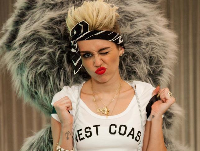 """Miley Cyrus na zdjęciach z sesji do albumu """"Bangerz"""""""