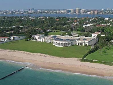 """""""Dwór Przyjaźni"""" w Palm Beach za jedyne 125 milionów"""