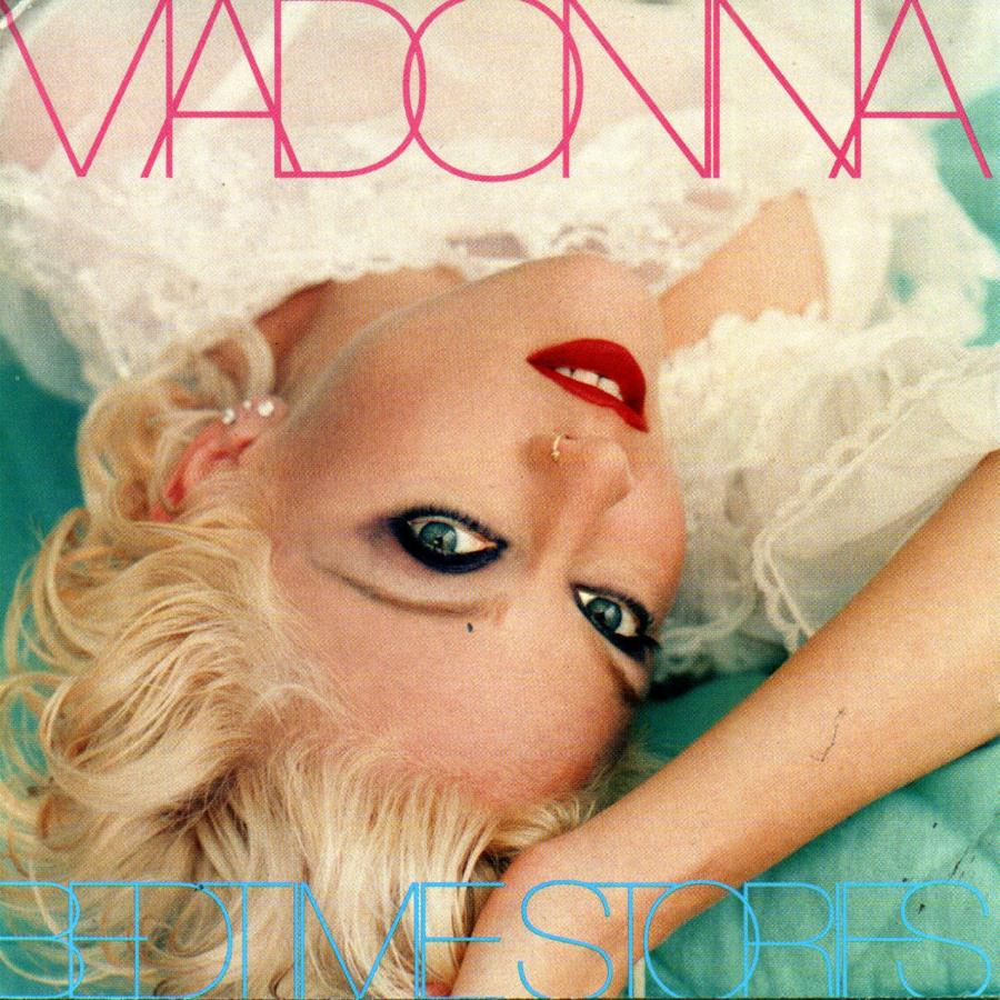 """Madonna na okładce albumu """"Bedtime Stories"""" w 1994 roku"""