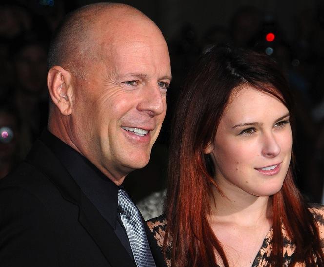 Rumer i Bruce Willis