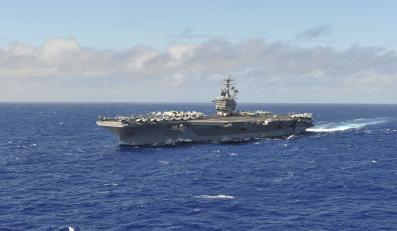 Lotniskowiec USS Nimitz płynie w kierunku Syrii