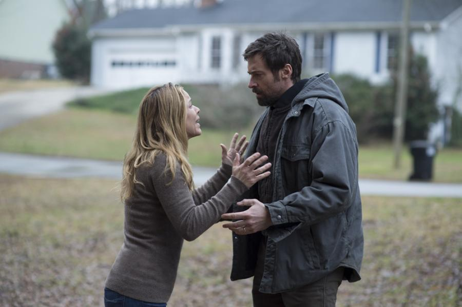 Hugh Jackman i Maria Bello w filmie \