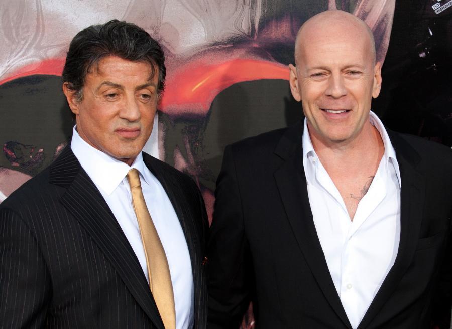 Sylvester Stallone nadal lubi Bruce\'a Willisa
