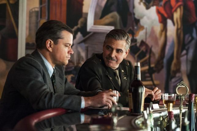 """George Clooney w filmie """"The Monuments Men"""""""