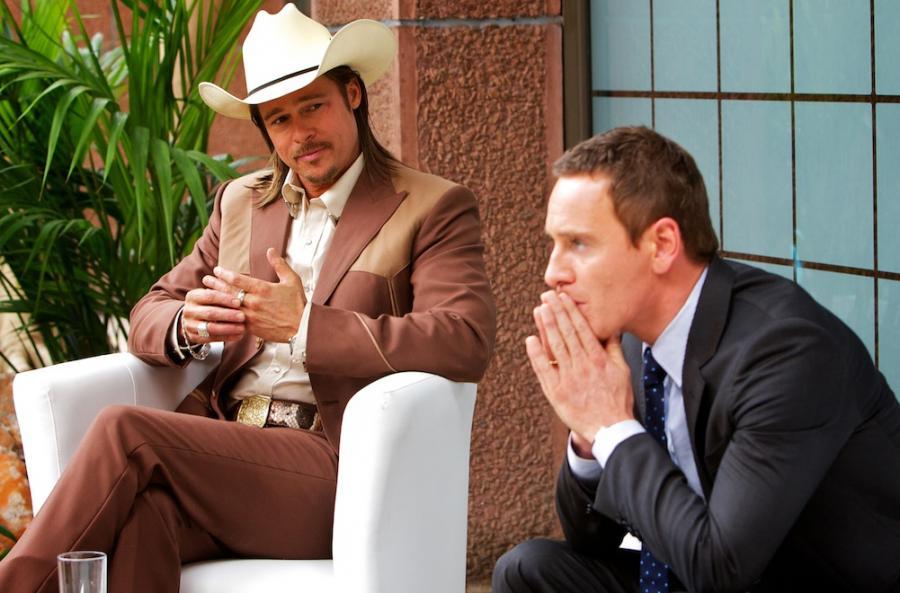 Brad Pitt i Michael Fassbender w \