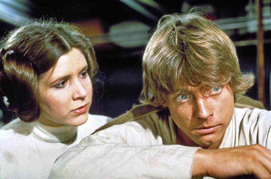 Carrie Fisher i Mark Hamill