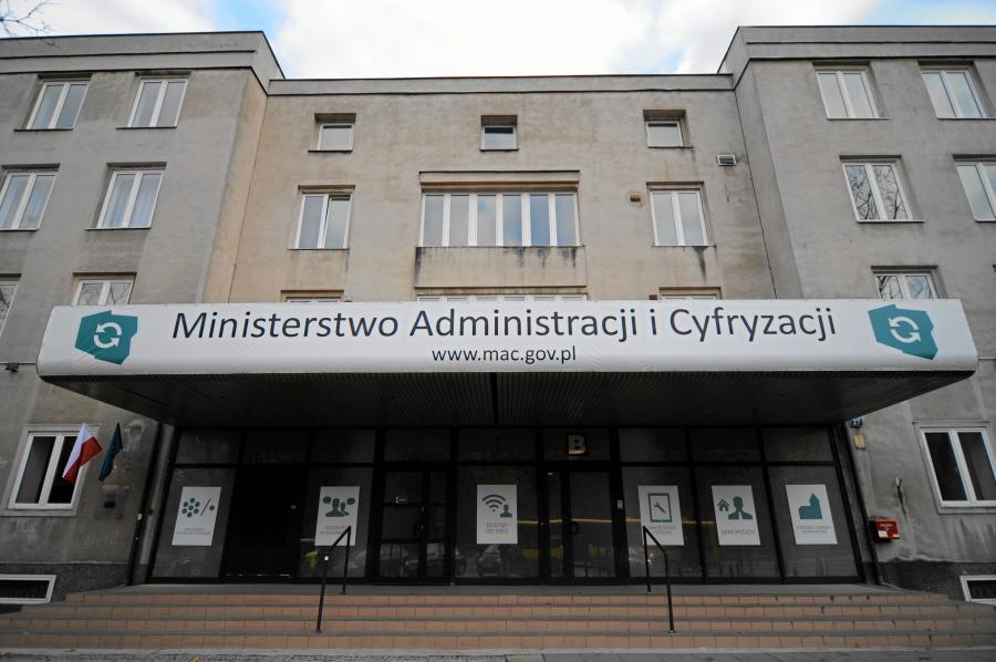 Siedziba Ministerstwa Administracji i Cyfryzacji