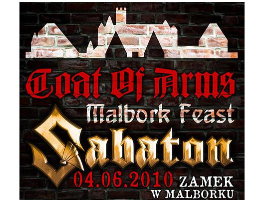 Sabaton zagra nową płytę w słynnym zamku