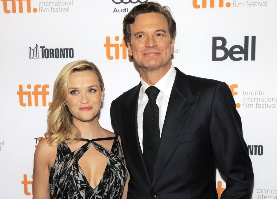Reese Witherspoon i Colin Firth na premierze \