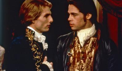 """Brad Pitt i Tom Cruise w filmie """"Wywiad z wampirem"""""""
