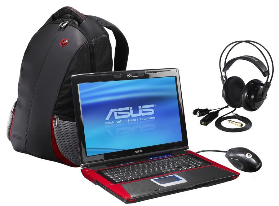 Asusa punkt G, czyli laptopy dla graczy