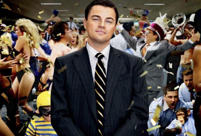 """1. """"Wilk z Wall Street"""" – nielegalnie ściągany 30,035 milionów razy"""