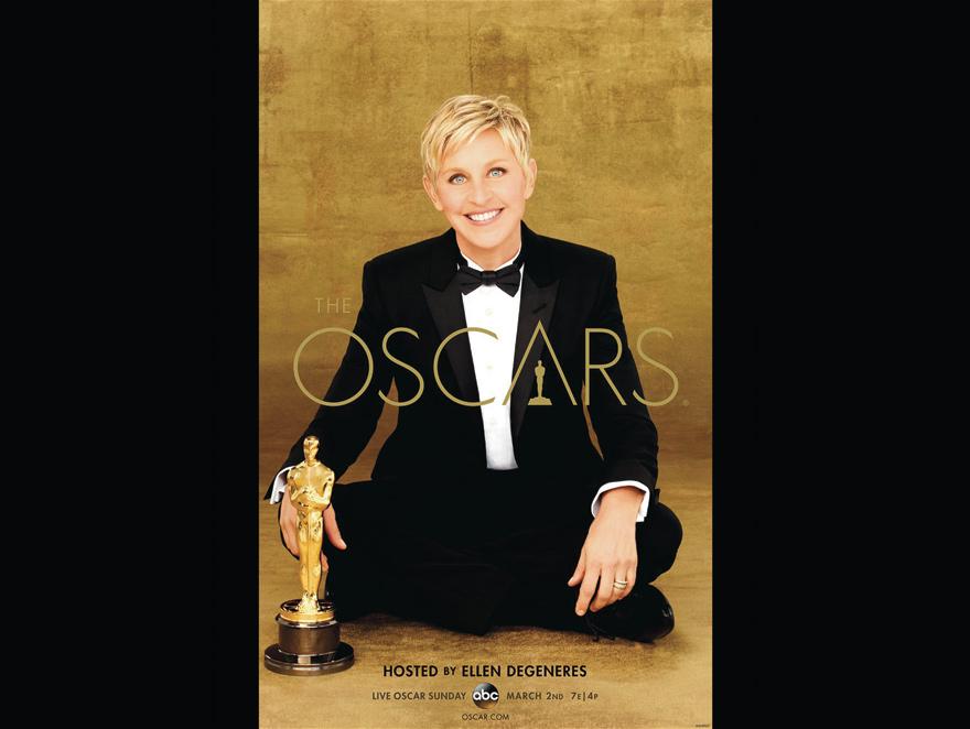 Plakat reklamujący Oscary 2014