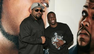 "Ice Cube i Kevin Hart na premierze ""Ride Along"""