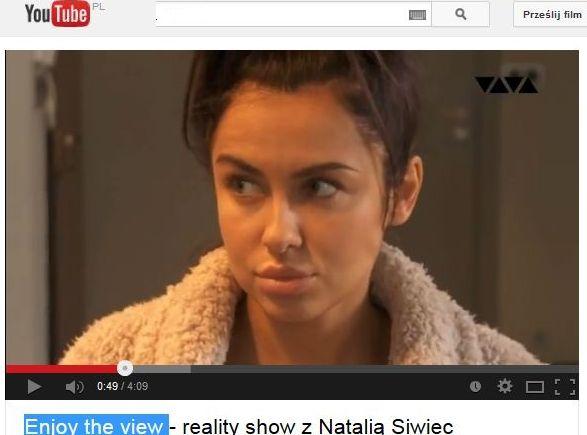 Natalia Siwiec w swoim reality show
