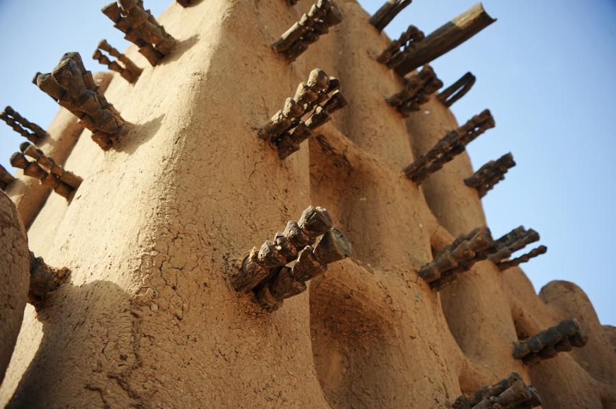Meczet w Timbuktu, Mali