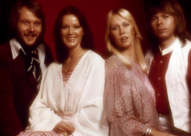 ABBA w legendarnym składzie i roku 1977