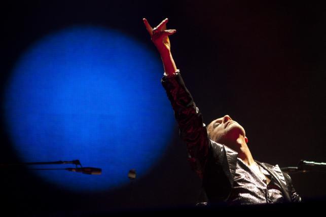 Depeche Mode podczas koncertu w Mardycie – 17.02.2014