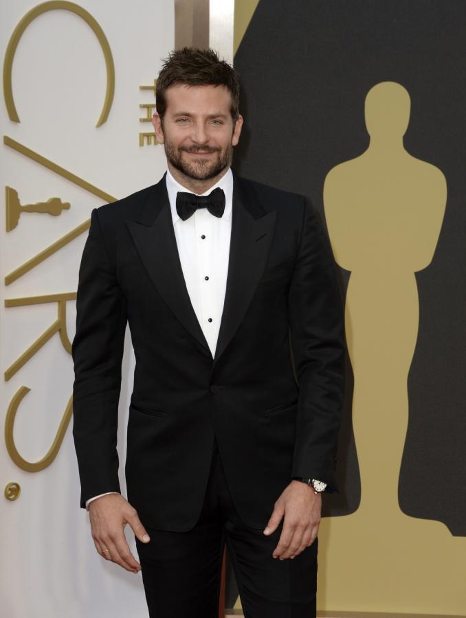 "Gwazda ""American Hustle"" –Bradley Cooper na gali Oscarów 2014"
