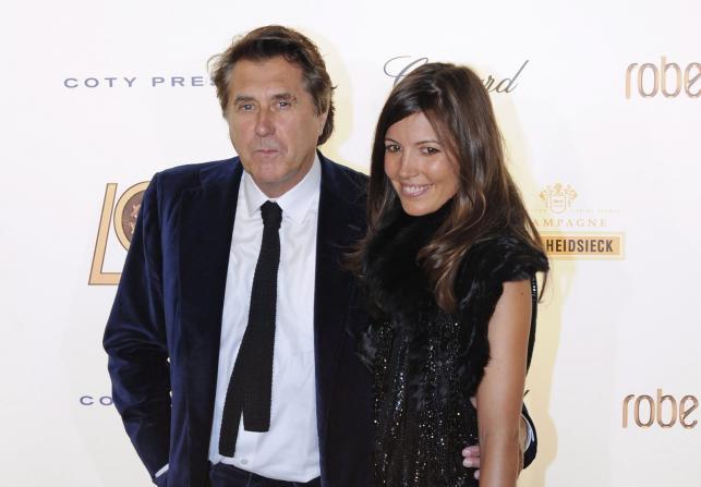 Bryan Ferry i Amanda Sheppard już po rozwodzie