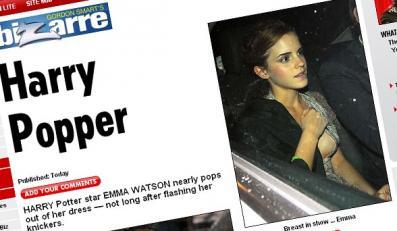 Emma Watson wreszcie pokazała pierś