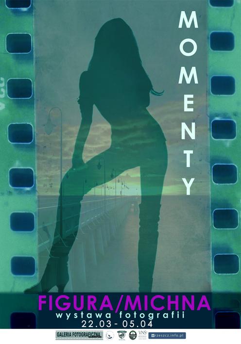 Plakat zapowiadający wystawę fotografii autorstwa Katarzyny Figury
