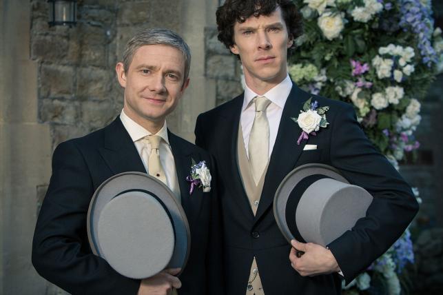 """Martin Freeman i Benedict Cumberbatch w trzecim sezonie serialu """"Sherlock"""""""